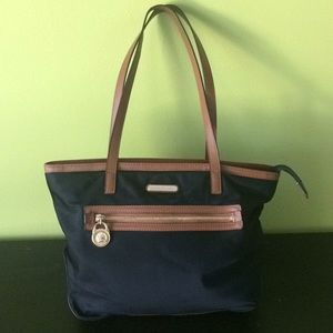 MK brown and black casual purse